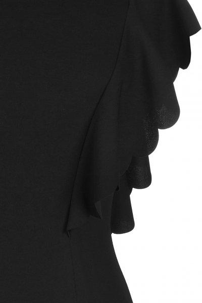 Vestido RINASCIMENTO Negro Volante Honda CFC0090848003