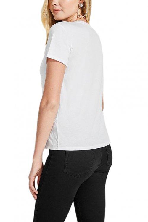 GUESS Camiseta blanca W92I60K7WS0 Mujer