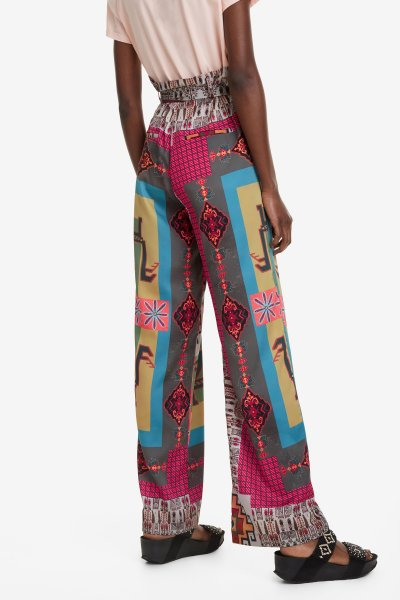Pantalón DESIGUAL Fluido Nicole 19SWPW10