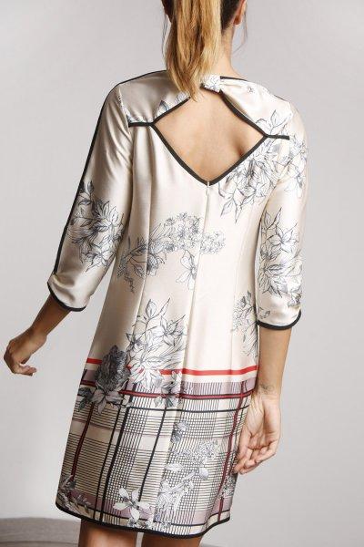 Vestido ALBA CONDE Estampado Multi 2404-448-13