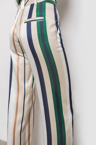 Pantalón ALBA CONDE Rayas Multicolor 1511-105-81