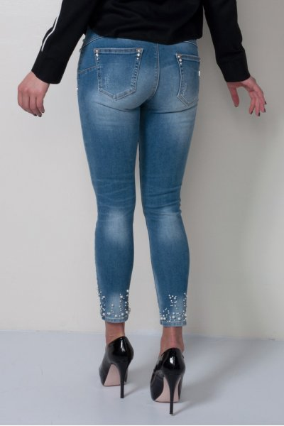 Jeans FRACOMINA Capri Perlas FR19SPJBETTY5