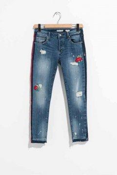 Jeans FRACOMINA Boyfriend Capri FR19SPJCARA8