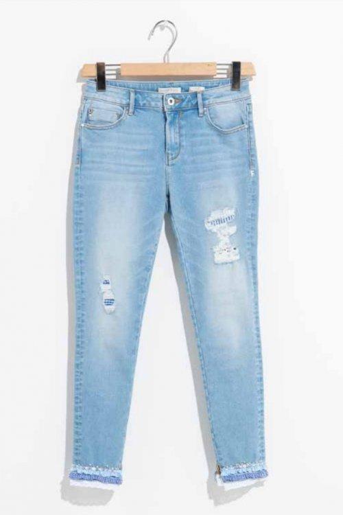 Jeans FRACOMINA Skinny Capri FR19SPJHAUDRY3