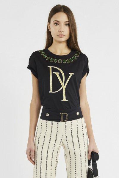 Camiseta DENNY ROSE Cuello Joya 911DD60001