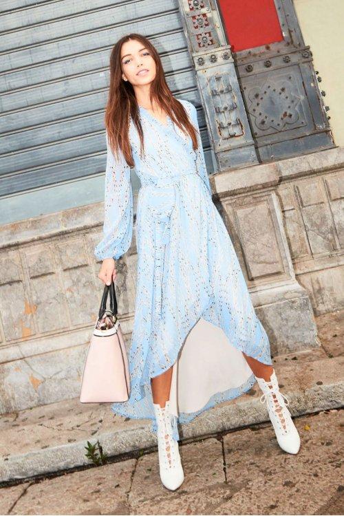 Vestido DENNY ROSE Largo Cadenas 911DD10022