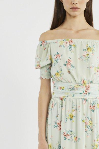 Vestido DENNY ROSE Largo Estampado Floral 911DD10041