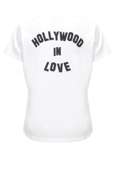 Camiseta PINKO Addicted To Love 1G13YDY5BD