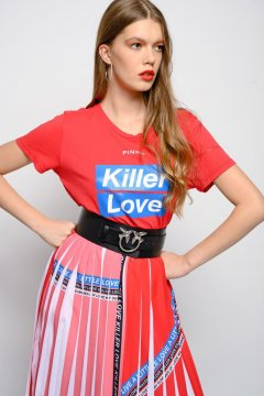 Camiseta PINKO Killer Love 1G13YDY5BD