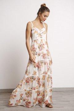 Vestido ALBA CONDE Largo Estampado 2425-437-11