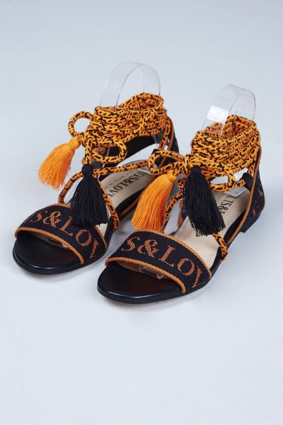 Sandalias GUTS & LOVE Orange Is The New Black Greek Z-19-2-005