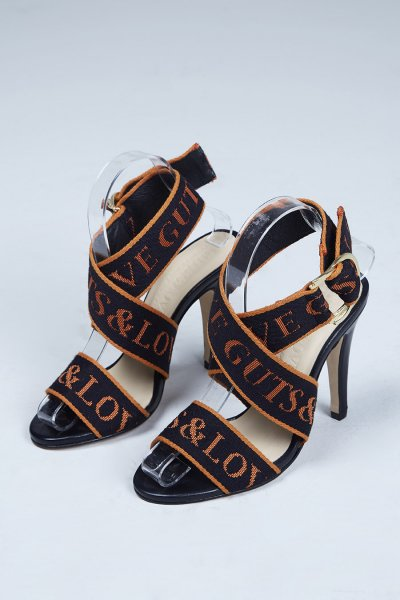 Sandalias GUTS & LOVE Orange Is The New Black High Heels Z-19-2-001