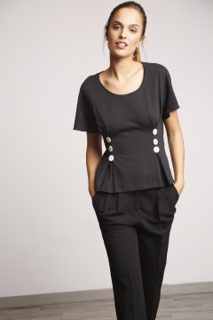 Camiseta ALBA CONDE Detalles Botones 2807-500-55
