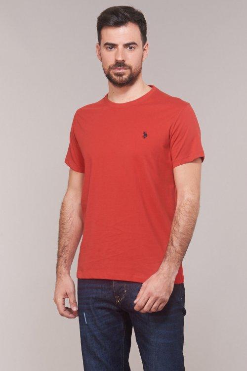 Camiseta US POLO ASSN Básica Logo Roja 51320 49351 155
