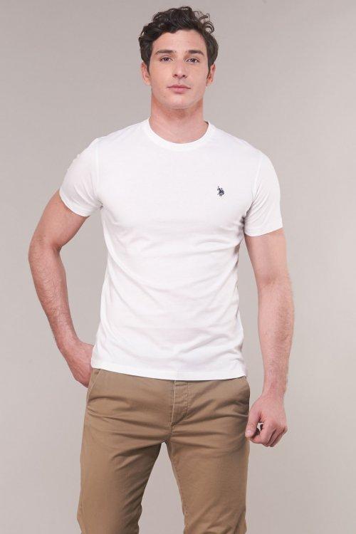 Camiseta US POLO ASSN Básica Logo Blanca 51320 49351 101