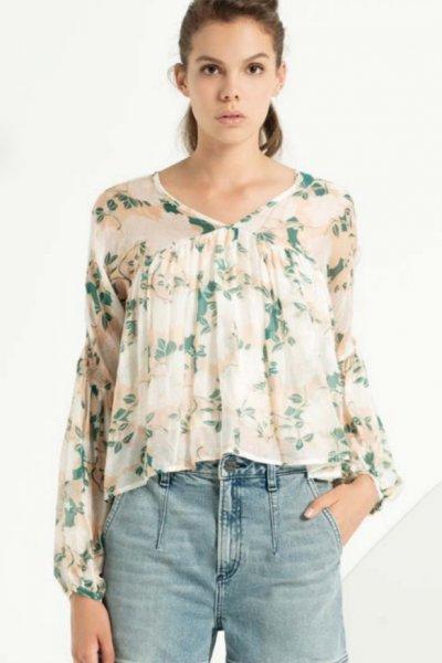 Blusa FRACOMINA Estampado Floral fr19smarianna