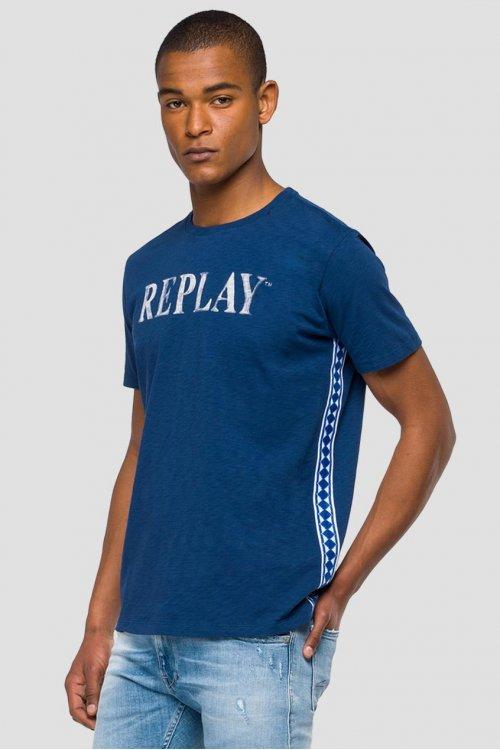 Camiseta REPLAY Laterales Pasamanería M3742 22336