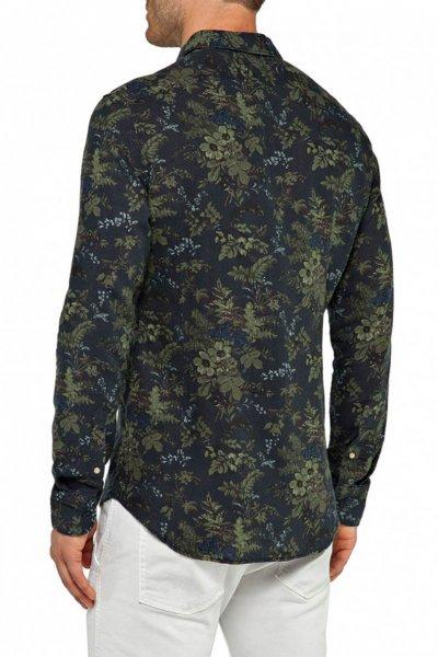 Camisa REPLAY Estampado Hojas M4913E 71672
