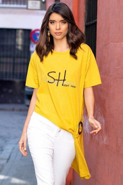 Camiseta SAHOCO Asimétrica SH1901420A