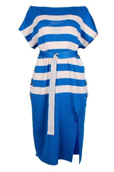 Vestido SAHOCO Punto Rayas SH1901793L