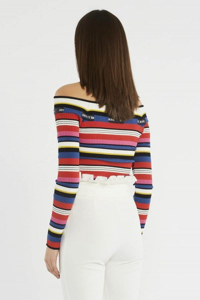 Jersey DENNY ROSE Rayas Multicolor 911DD50014