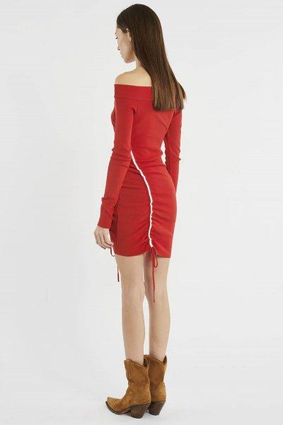Vestido DENNY ROSE Lateral Fruncido 911DD50012