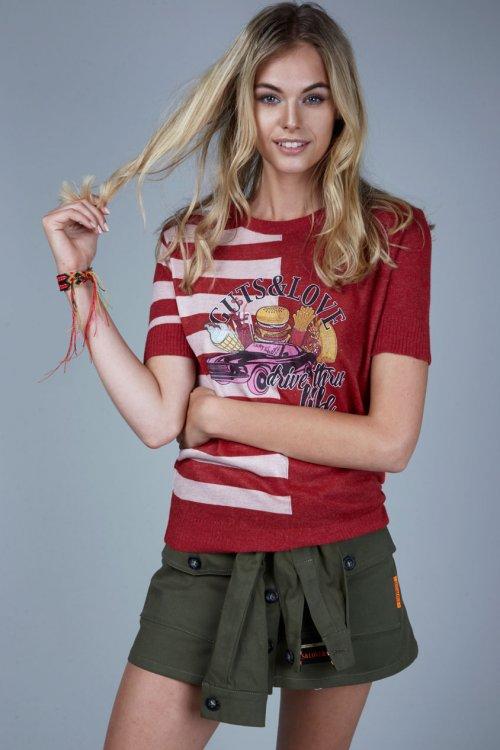 Camiseta GUTS & LOVE Drive Me Crazy C-19-1-002