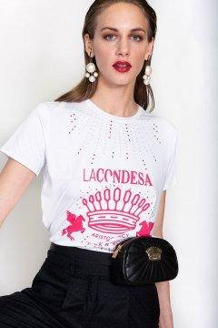 Camiseta LA CONDESA Crown Punto