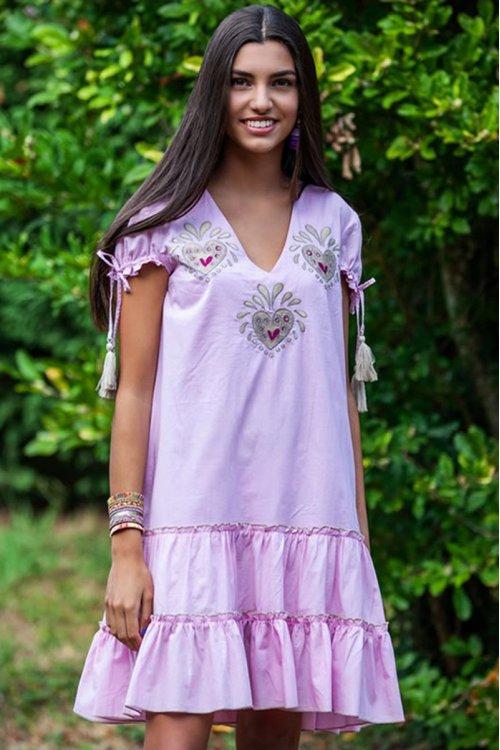 Vestido TARTARUGA Pop Rosa