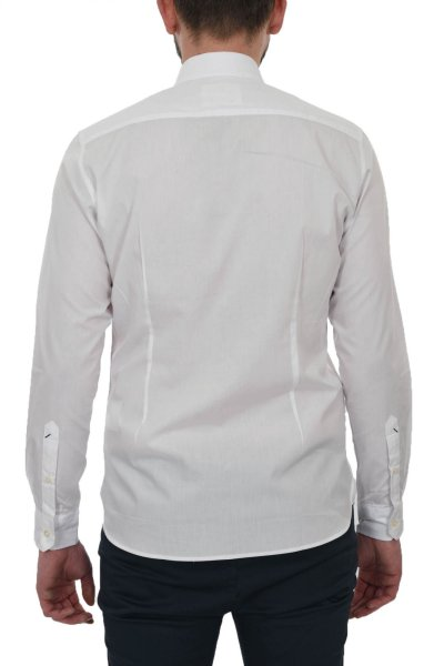 Camisa US POLO ASSN Básica Blanca Bordado Logo 52299-52112