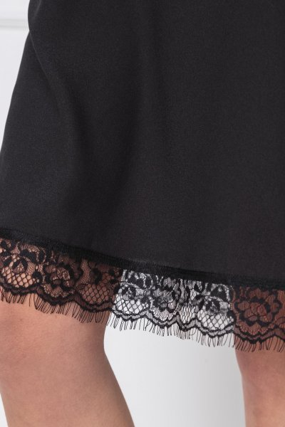 Vestido TWINSET Lencero Negro 191MT2451
