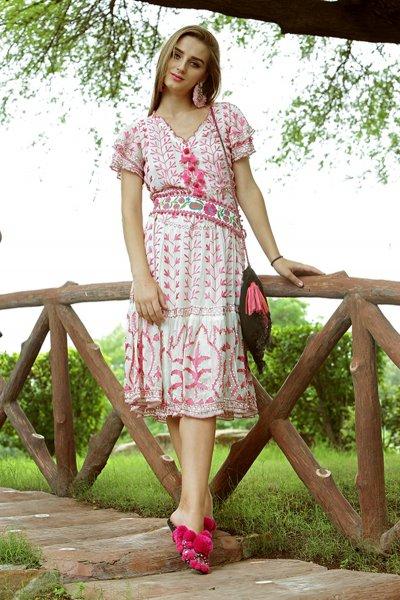 Vestido IBBAN Adela Rosa