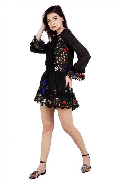 Vestido IBBAN Blouse Negro ELISA BLOUSE BLACK