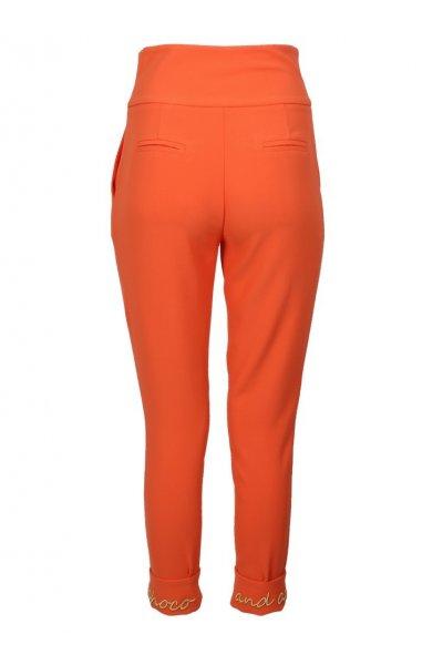 Pantalón SAHOCO Bajo Bordado Naranja SH1901316M