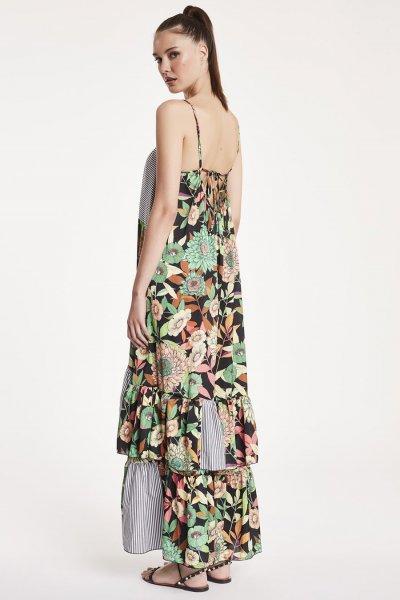 Vestido DENNY ROSE Largo Combinado 912DD10058