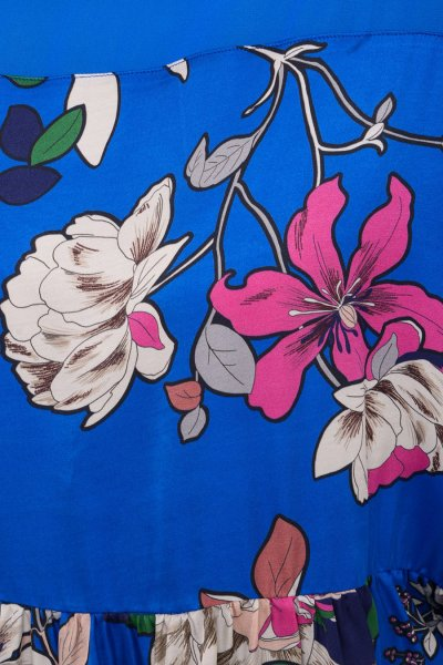 Blusa TWINSET Azul Estampada 191TP2470