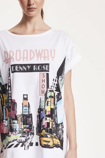 Camiseta/Vestido DENNY ROSE Estampado Broadway 912DD60024