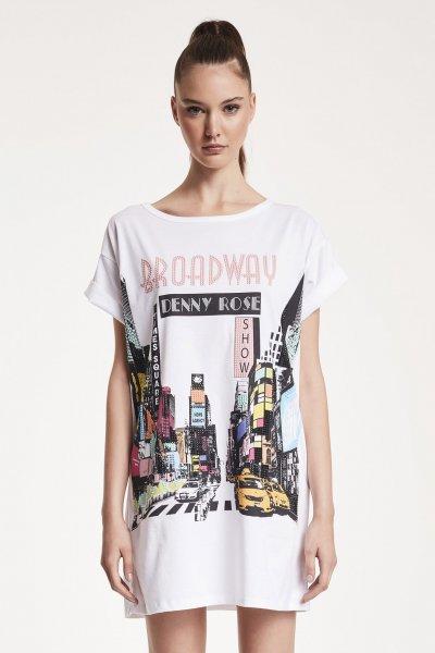 Camiseta/Vestido DENNY ROSE Estampado Broadway 912DD60024