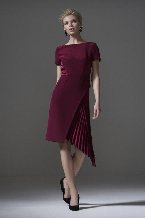 Vestido CARLA RUIZ Granate 96013