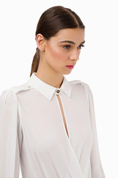 Camisa Body ELISABETTA FRANCHI Con Cuello CB06196E2