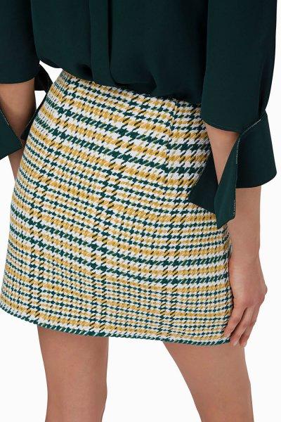 Minifalda ELISABETTA FRANCHI Logotipo GO27296E2