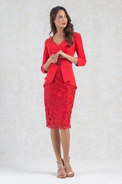Vestido MONCHO HEREDIA Falda de Guipure 7211055
