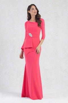 Vestido MONCHO HEREDIA Largo Aplicación Joya 7215019