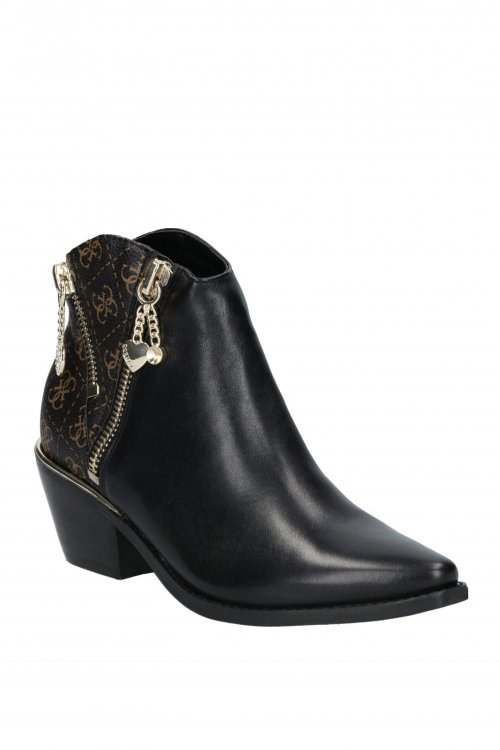 Botines GUESS Western Con Cremalleras FL7NED FAL10