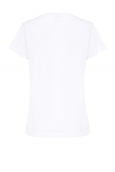 Camiseta PINKO Ultra Pop con Strass 1B147WY5BD