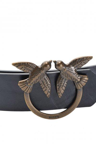 Cinturón PINKO de Piel con Hebilla Love Birds 1P21K6Y5GB