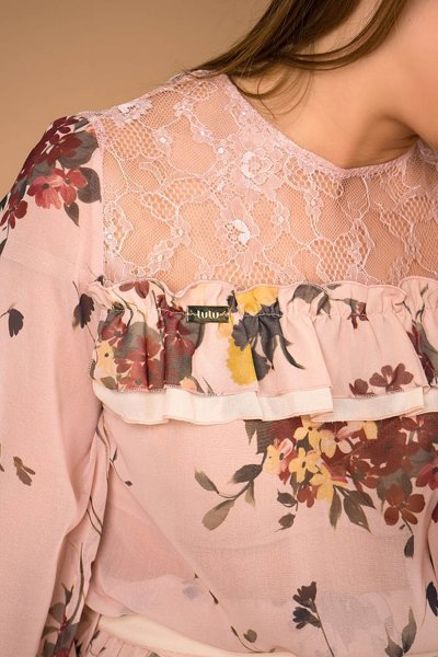 Sudadera EL ARMARIO DE LULU Xiana Estampado Floral 92411