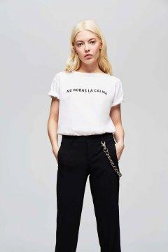 Camiseta DOLORES PROMESAS Me Robas La Calma 108172