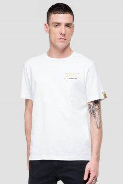 Camiseta REPLAY Tributo Tupac Edición Limitada M3946B 22628A