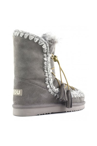 Bota MOU Eskimo Dream Lace Up & Fur New Grey MU.ESKIDREAMLACE NGRE